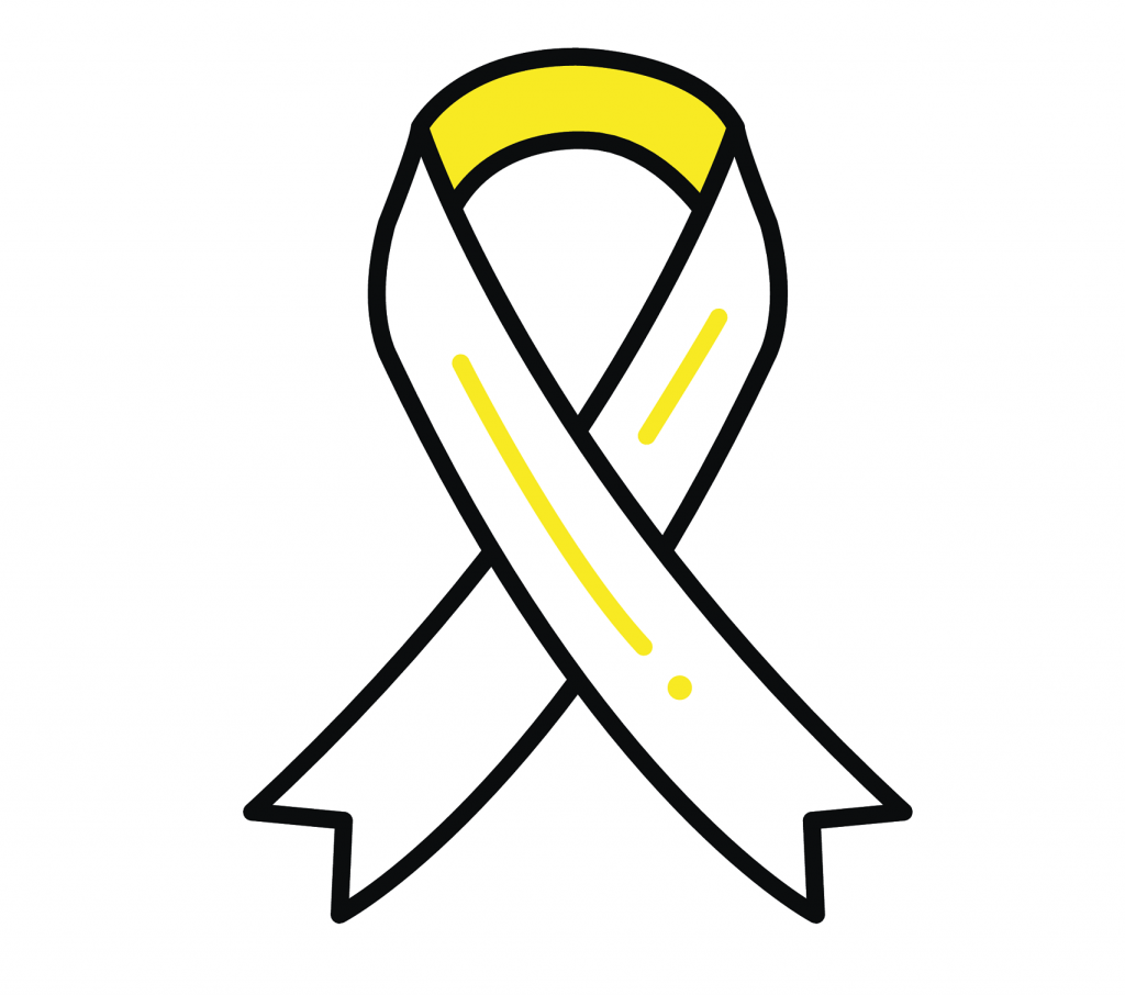 A picture of a Cancer Ribbon
